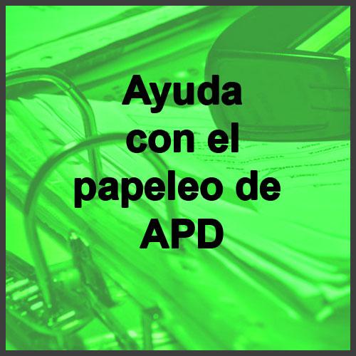 AYUDA CON LOS PAPELES DE APD